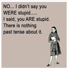 Grammar tenses through humour
