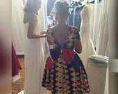 Stella Dutch Hollandais African print dress by LiLiCreations African Print Clothing, African Print Dresses, African Dress, African Prints, Ankara Dress, African Inspired Fashion, African Print Fashion, Africa Fashion, African Attire