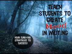 Do your students have difficulty including mood in their writing? Are you looking for different strategies to teach mood? If so, don't miss this post! Includes links to pictures to use in your classroom lesson, and two terrific videos! 6th Grade Writing, Middle School Writing, Writing Classes, Middle School English, Writing Lessons, Writing Workshop, Teaching Writing, Writing Activities, Teaching Ideas