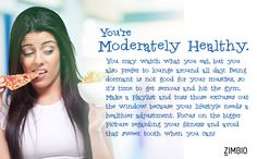 I got Moderately Healthy. How about you? - Quiz