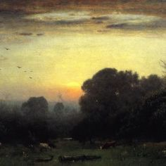 George Inness - Morning
