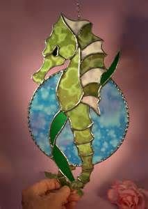stained glass seahorse - Yahoo Image Search results