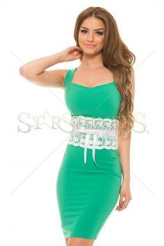 Artista Unfogetable Grace Green Dress
