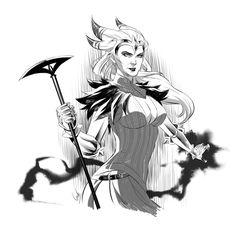 Dragon Age II Flemeth by virak.deviantart.com on @deviantART