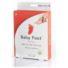 Få babymyke føtter med Baby Foot.