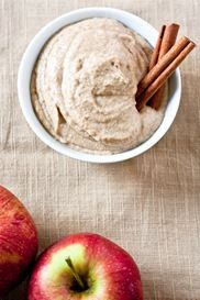Apple spice hummus, maybe substitute sunflower seed butter for cashew butter???