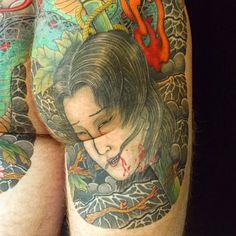 i like horimono. - #生首 http://hori-ai.com #tattoo #tattoos ...