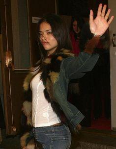 "ladyswanepoel: "" Young Adriana Lima """