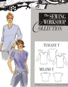 Birch Steet Clothing : Sewing Workshop Collection / Tuscany T