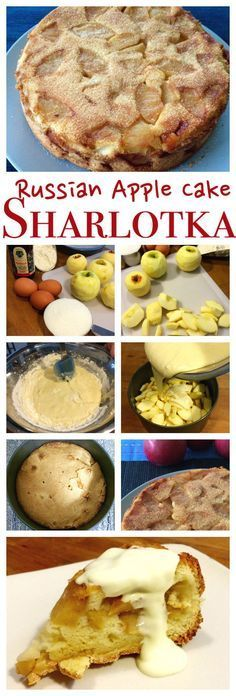 Russian Apple Cake recipe | Rita's Apple Sharlotka Cake | PetersFoodAdventures