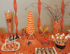 Halloween Candy decorations
