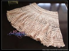 Openwork Skirt free crochet graph pattern