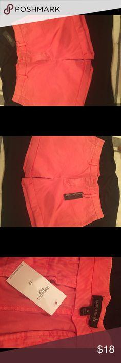 BR shorts Super pretty salmon colored shorts from Banana Republic. Banana Republic Shorts