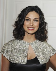 Morena Baccarin attends the George Kotsiopoulos 'Glamorous by George' Book Launch Party Hosted by Joan and Melissa Rivers on January 13 2014 in...