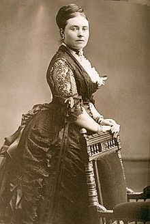 Victoria, Princess Royal (Victoria Adelaide Mary Louisa; 21.11.1840 – 5.8.1901) eldest child of Queen Victoria & Prince Albert.  Created Princess Royal - 1841. She became German Empress & Queen of Prussia by marriage to German Emperor Frederick III.  Mother of Kaiser Wilhelm II of Germany, she had 8 children