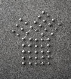 Mel Bochner, Meditation on the Theorem of Pythagoras, 1972.