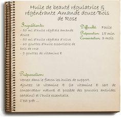 HUILE DE BEAUTÉ RÉGULATRICE & RÉGÉNÉRANTE AMANDE DOUCE/BOIS DE ROSE
