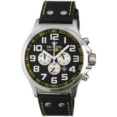 TW Steel Men's TW673 RF1 Team Pilot Black Dial Watch -- You can get additional details at the image link. (This is an Amazon Affiliate link and I receive a commission for the sales)