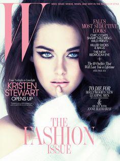 #magazine #cover #be_lola #style #fashion #inspiration #makeastatement #kristenstewart #W