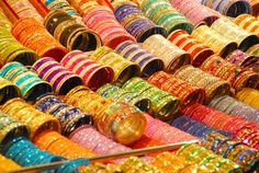 India wakes up to the sound of different bangles Bridal Party Jewelry, Wedding Jewelry, Indian Accessories, India Colors, Colours, Color Me Beautiful, Sabyasachi, Saree, Color Of Life