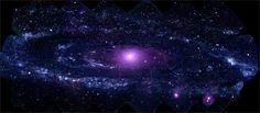 Ultraviolet Portrait of Andromeda Galaxy / Credit: NASA/Swift/Stefan Immler (GSFC) and Erin Grand (UMCP)