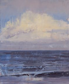"Saatchi Art Artist: Murray Taylor; Oil 2013 Painting ""Sea Sky 4"""