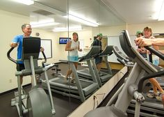 Exercising is fun and free at the Fairfield Inn! Fairfield Inn, Guest Room, Modern, Fun, Trendy Tree, Guest Rooms, Spare Room, Guest Bedrooms, Hilarious