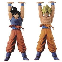 Dragon Ball Super Sculture Spirit Bomb Goku Statue Set http://amzn.to/2rVRWSM