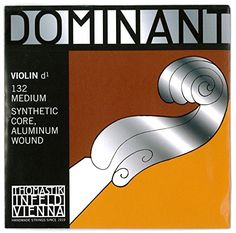 ThomastikInfeld 13244 Dominant Nylon Core Violin DString Medium Gauge 44 Scale >>> For more information, visit image link.Note:It is affiliate link to Amazon. #Violin