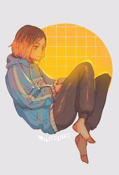Tn una semplice ragazza Otaku si trasferisce a tokyo dove farà molte … #fanfiction # Fanfiction # amreading # books # wattpad Fanarts Anime, Manga Anime, Anime Art, Kenma Kozume, Kuroken, Haikyuu Fanart, Haikyuu Anime, Haikyuu Characters, Anime Characters
