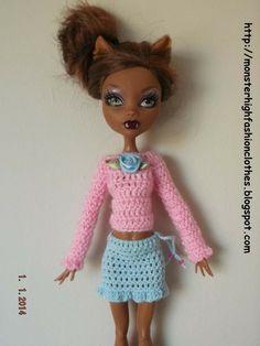 If you like this, visit my shop: http://mymonsterhighboutique.dawanda.com Ropa de Monster High s199 von My Monster High boutique auf DaWanda.com