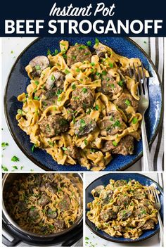 No canned soup! Easy, healthy beef stroganoff from … Instant Pot Beef Stroganoff. No canned soup! Easy, healthy beef stroganoff from scratch in the electric pressure cooker. Recipe uses Greek. Beef Stroganoff Instant Pot Recipe, Healthy Beef Stroganoff, Stroganoff Recipe, Mushroom Stroganoff, Best Instant Pot Recipe, Instant Pot Dinner Recipes, Instant Recipes, Instant Pot Pressure Cooker, Pressure Cooker Recipes