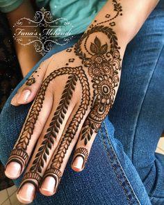 Mehndi or Henna for Fingers Designs Mehndi Fingers, Mehndi Designs For Fingers, Best Mehndi Designs, Fingers Design, Mehndi Art, Henna Mehndi, Mehendi, Henna Tattoo Hand, Hand Tattoos