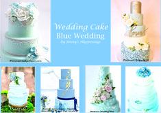 """Si votre thème est la #mer , #plage , #été , le #bleu  #clair est la couleur indispensable ! Personnellement le #bleu #clair me donne déjà l'impression d'être en #vacances ! Pas vous ? J'avoue que je ne peux plus penser #bleu sans me dire """"Le bleu du ciel n'est pas le bleu de la mer..."""" Vous reconnaissez ? ;-) Le #Bleu est la couleur parfaite pour un thème sur #Vaiana :D Cette épingle est consacrée au Wedding Cake Wedding Event Planner, Wedding Pinterest, Blue Wedding, Marie, Wedding Cakes, Shit Happens, Impression, Ciel, Wedding Ideas"""