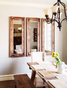 How to Make This Easy DIY Rustic Floor Mirror With Only Basic Tools ...