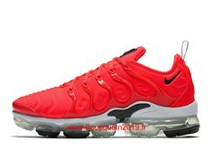 best sneakers 8be80 d1692 Nike Air Vapormax Plus Chaussures Running Nike Pas Cher Pour Homme Rouge  Blanc 924453-602