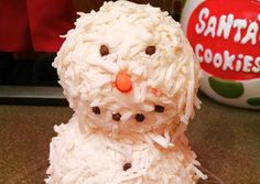 Snowman Cheese Ball Recipe -  Very Tasty Food. Let's make it!