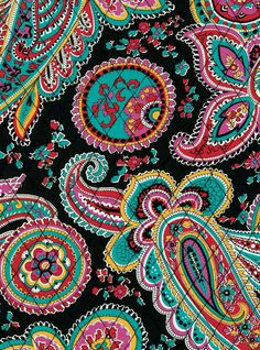 b1e164a5ba Make a style statement with fun and bright Vera Bradley patterns. From  paisley to floral patterns