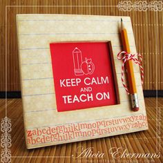 Call Me Crafty Al: Keep Calm and Teach On - Whimsie Wednesday Challenge