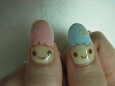 Little Twin Stars Nails