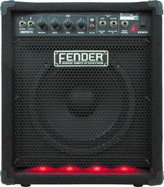 Fender Rumble 25 - first bass amp Red Lights, Home Studio Music, Bass Amps, Fender Guitars, Music Guitar, Marshall Speaker, Tools, School, Collection
