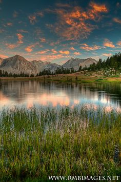 John Muir Wilderness, Sierra Mountains, California, USA