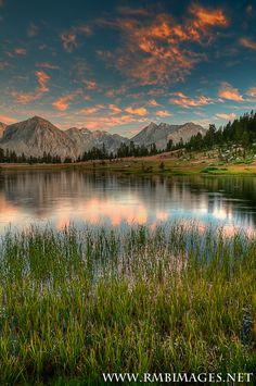 John Muir Wilderness, Sierra Mountains, California, USA