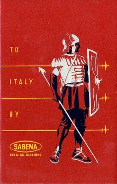 Sabena ~ Italy  (english)