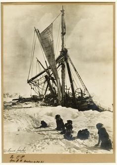 Endurance - Photo by Frank Hurley - 1915