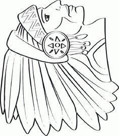 Native American Day Coloring Pages & Sheets For Kids Free