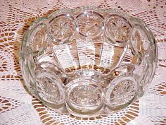 Tiffin Moon & Stars Franciscan Vintage Punch Bowl and 20 Cups. $159.00, via Etsy.