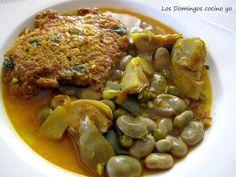 LOS DOMINGOS COCINO YO: TORTILLAS EN CALDO (de la Vega Baja del Segura) Tapas, Las Vegas, Pot Roast, Tortillas, Pork, Beef, Snacks, Chicken, Ethnic Recipes