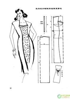 自己动手做连衣裙 --- 裁剪图  (2) - 紫苏 - 紫苏的博客