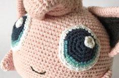 ELIE ENHJØRNING – Unkeldesign Macrame, Pikachu, Beanie, Teddy Bear, Passion, Blog, Beginner Crochet, Free Pattern, Threading